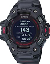 Casio Men's G-Shock Move, GPS + Heart Rate Running Watch, Quartz Solar Assisted Watch with Resin Strap, Gray, (Model: GBD-...