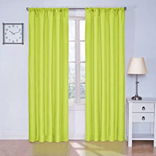 Best neon yellow curtains Reviews