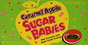 Sugar Babies Caramel Apple (5 oz Boxes) 3 Pack