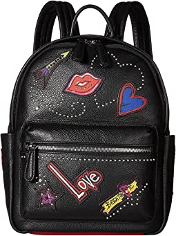 213d418f27 Black Multi. 5. Brighton. Love Scribble Backpack