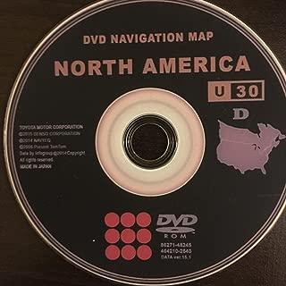 2016 Toyota & Lexus Navigation DVD v.15.1 Generation 4