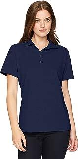 blue polo shirt womens