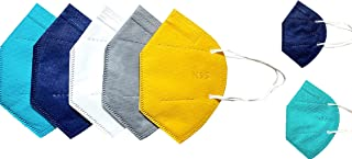 VE-MARUSH Non Woven Fabric Reusable Face Mask (Multicolour, Without Valve, Pack of 18) for Men, Women