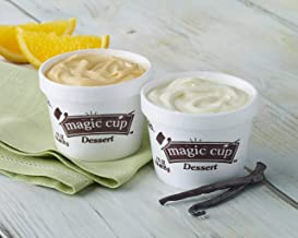 Hormel Healthlabs Magic Cup Fortified Nutrition Dessert Cup Variety Pack (Vanilla, Chocolate, Butter Pecan, Wild Berry, Orange Creme & Vanilla No Sugar Added) 4 ounces (Pack of 24)
