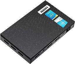 MeLE Quieter2 Fanless Mini PC Intel Celeron J4125 8GB DDR4 128GB eMMC Mini Computer with Windows 10 Pro, Micro Desktop PC ...