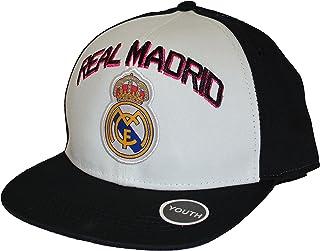 d236c261109 Real Madrid Fc Club Snapback Youth Kids Adjustable CAP Hat - White-black  NEW Season