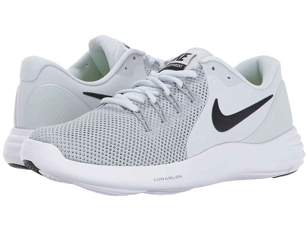 断言する五月自分自身(ナイキ) NIKE レディースランニングシューズ?スニーカー?靴 Lunar Apparent Pure Platinum/Black/Wolf Grey/Cool Grey 6.5 (23.5cm) B - Medium