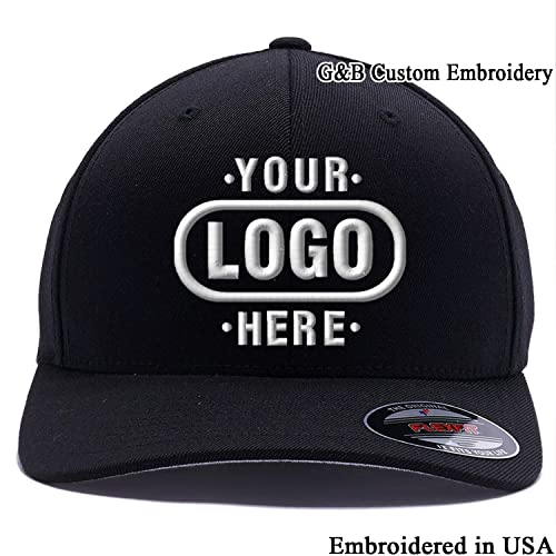 Yupoong Custom Hat Flexfit 6277. Embroidered. Place Your Own Logo or Design 0401c297b6ab