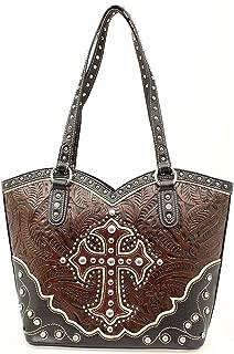 Blazin Roxx Boot Top Cross Overlay Handbag