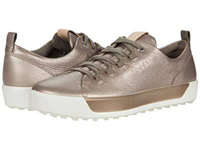 ECCO Golf Soft II Hydromax(r) (Warm Grey Cow Leather) Women