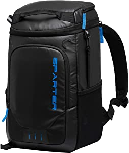 SPARTER Backpack Cooler, 30 Cans Insulated Cooler Bag with Large Capacity, Lightweight Soft-Sided Double Decker Lunch Backpack for Men Women to Picnic/Camping/Hiking/Beach/Park/Day Trip