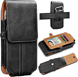 Tekcoo Phone Holster for iPhone 11 Pro Max/X/XR/XS/Huawei P30/P20/P10/P9/Y7 Prime/OnePlus 7/7T/7 Pro Premium Leather Carry...