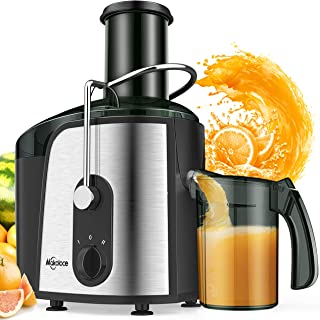Juice Extractor,Makoloce Centrifugal Juicer Machines,1200W Juicer Makers Ultra Fast Extract Various Fruit and Vegetable Ju...