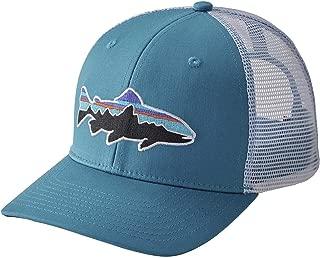 Fitz Roy Trout LoPro Trucker Hat Lumi Blue White