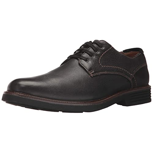 2a7cc89f50e986 Dockers Mens Parkway Leather Dress Casual Oxford Shoe with NeverWet