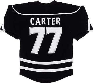 Jeff Carter Los Angeles Kings #77 Black Youth Home Stripe Fashion Jersey