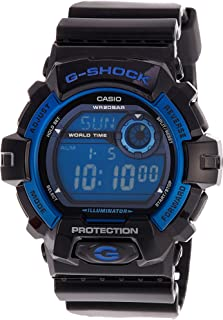 Casio G-Shock G-8900A-1 G-8900A-1DR Digital Men's Watch (Black x Blue)