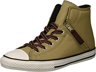 Converse Unisex-Child Chuck Taylor All Star Pull Zip High Top