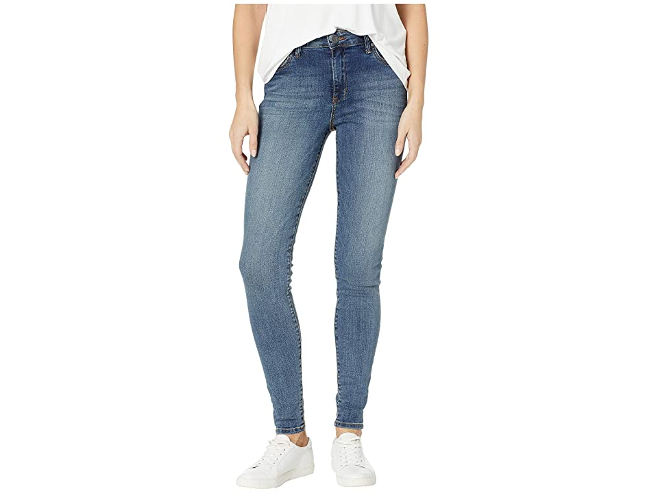 KUT from the Kloth Mia High-Waisted Skinny Jeans in Interfere/Medium Base Wash (Interfere/Medium Base Wash) Women