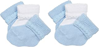 Baby Cotton Infant Bootie (Pack of 6)