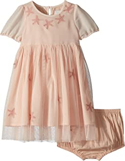 Maria Star Patched Tulle Dress (Infant)
