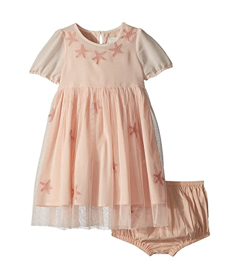 Stella Mccartney Kids Maria Star Patched Tulle Dress Infant At
