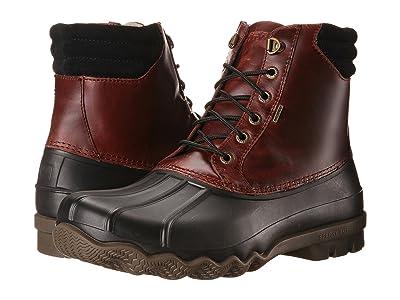 Sperry Avenue Duck Boot (Black/Amaretto) Men