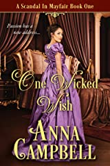 One Wicked Wish: A Scandal in Mayfair Book 1 Kindle Edition