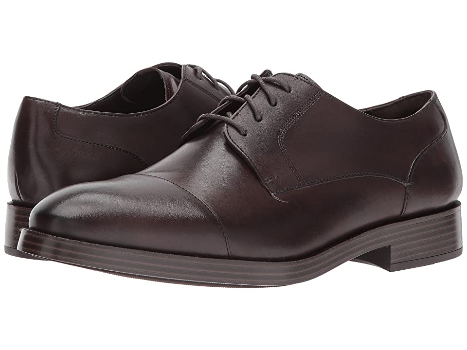 Cole Haan Henry Grand Cap Toe Oxford (Dark Brown/Dark Brown) Men