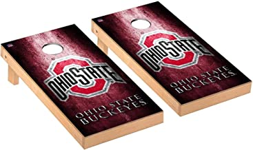 Victory Tailgate Regulation Collegiate NCAA Museum Series Cornhole Board Set - 2 Boards, 8 Bags - 600+ Teams Available