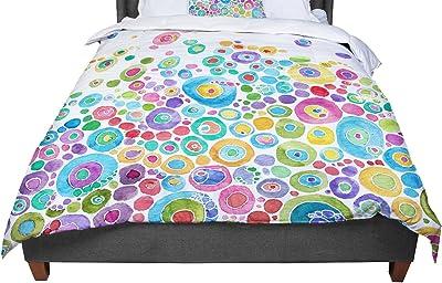 KESS InHouse Heidi Jennnings Gumdrop Buttons Gingerbread Twin Comforter 68 X 88