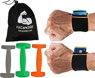 Wrist Wallet + Silicone Water Bottle Carrier | Running...