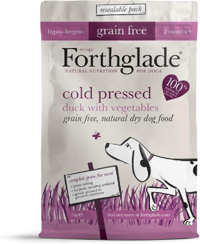 Leeway Forthglade  COLD PRESSED DUCK & VEG  DRY DOG FOOD  1KG x6