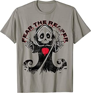 Paqui One Chip Challenge Fear The Reaper Ghost Pepper  T-Shirt