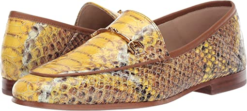 Yellow Multi Sand Snake Leather