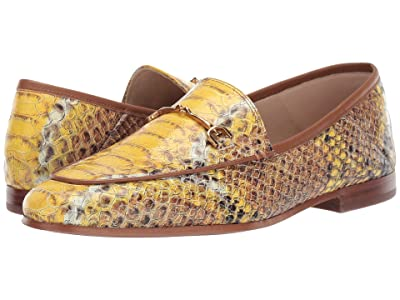 Sam Edelman Loraine Loafer (Yellow Multi Sand Snake Leather) Women