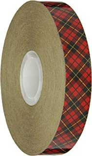 Scotch ATG Adhesive Transfer Tape 924 Clear, 0.75 in x 60 yd 2.0 mil (Pack of 1)