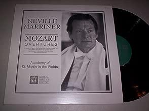 Mozart Overtures: Le Nozze di Figaro; Die Zauberflote; Don Giovanni, etc./Academy of St. Martin-in-the-Fields/Neville Marriner - Vinyl Record