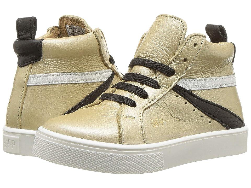 Freshly Picked High Top Sneaker (Toddler/Little Kid) (Platinum) Girls Shoes