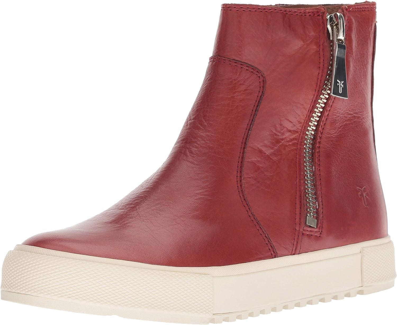 Frye Womens Gia Lug Zip Bootie Sneaker