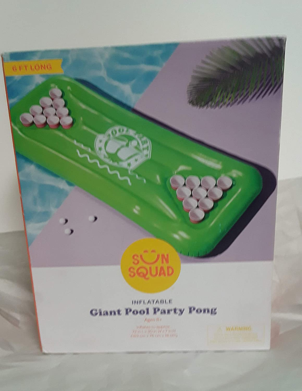 Sun Squad Giant Party Pong Washington Mall Bombing new work Pool