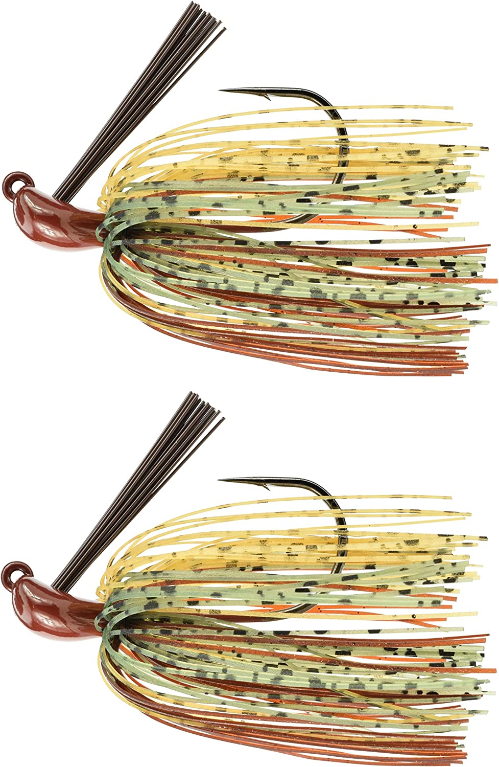 Last Cast Tackle 3 81oz Tunsten Bass Flipping Jig  2 Pack  4 colors & 4 Weights to Choose from