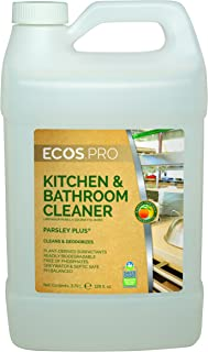 Earth Friendly Products Proline PL9746/04 Parsley Plus All-Purpose Kitchen-Bathroom Cleaner-Degreaser, 1 gallon Bottles (Case of 4)