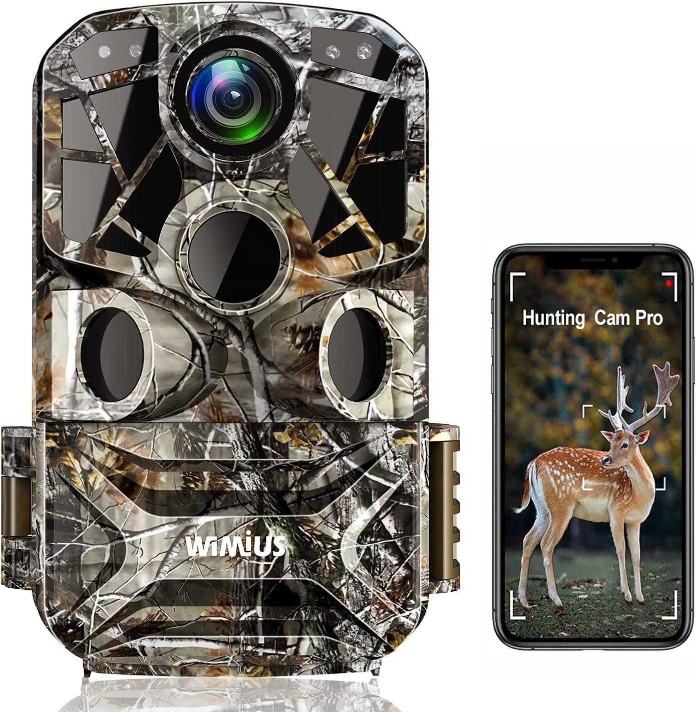 Max 59% Houston Mall OFF WiMiUS H8 WiFi Trail 24MP 1296P Camera【2021 Upgraded】