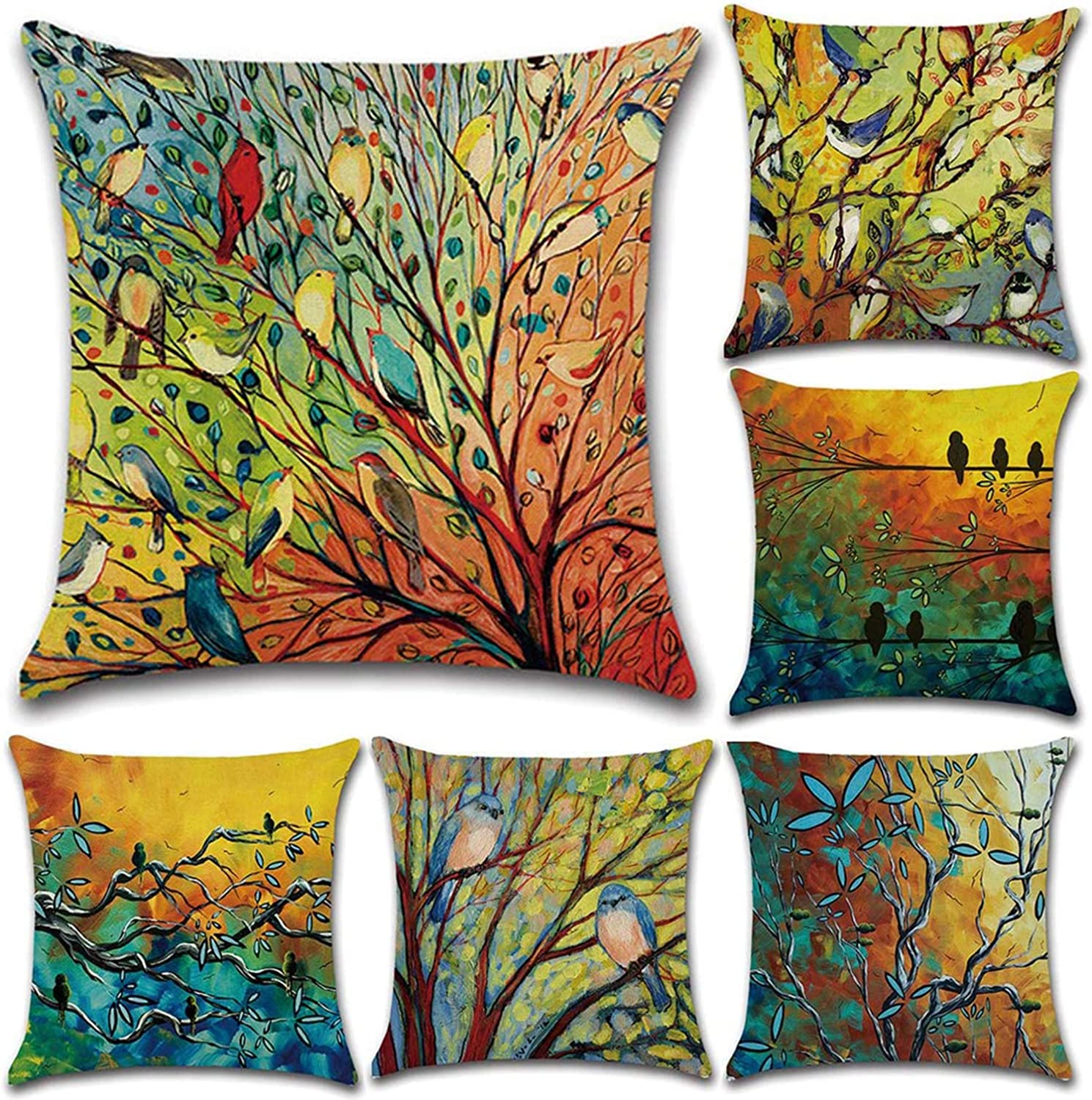 Tosnail 20 Pack Decorative Throw Pillow Covers Cushion Cover for Indoor and  Outdoor Decoration   20