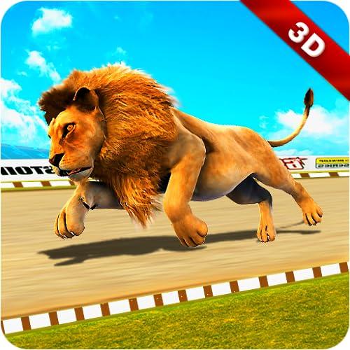 Wild Lion Racing Fever : Animal Race
