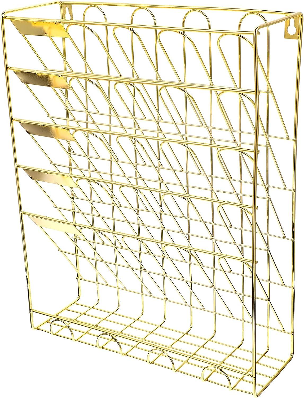 YARNOW Golden Multi Layer Soldering Wire Countertop Rack Bookshelf Be super welcome
