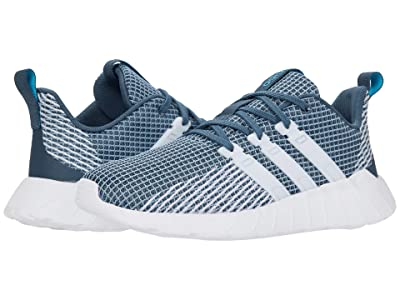 adidas Kids Questar Flow (Little Kid/Big Kid) (Legacy Blue/Footwear White/Sky Tint) Girls Shoes