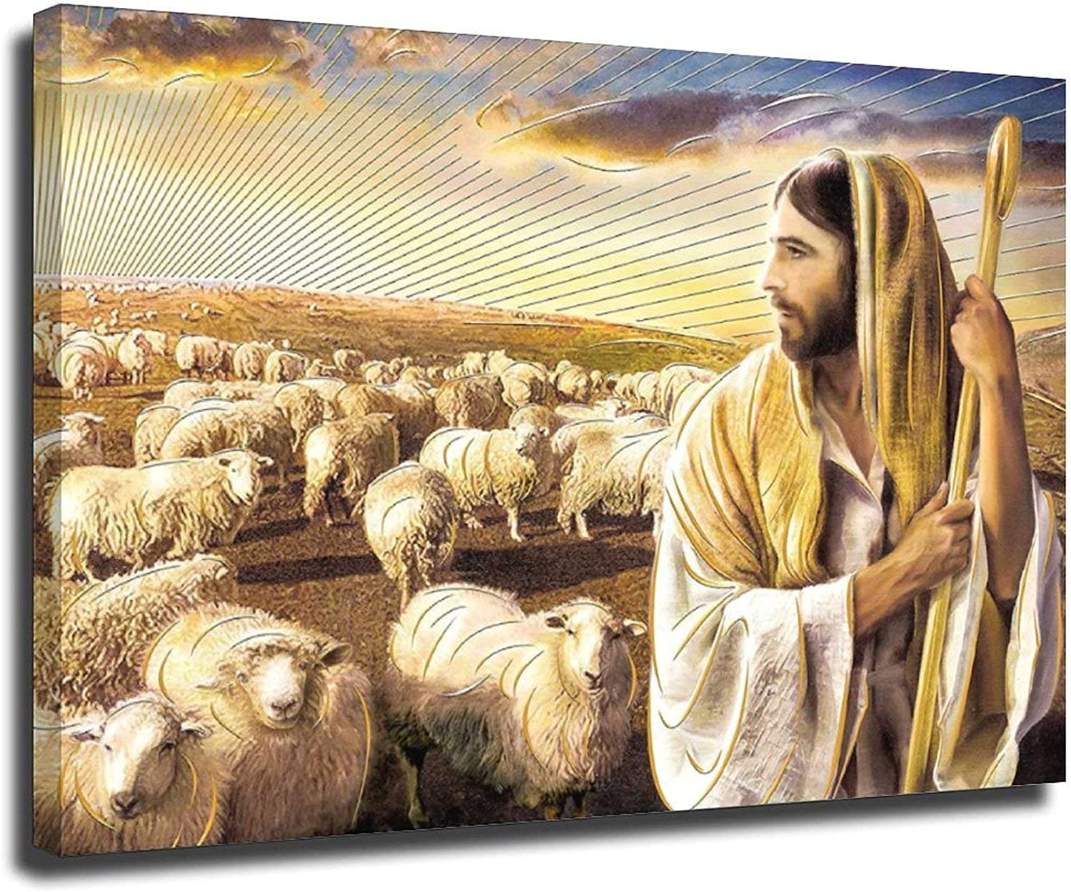 Esus Christ The Lord Is Shepherd 32×48inch Year-end annual account My Unframe-style1 Max 59% OFF 80×