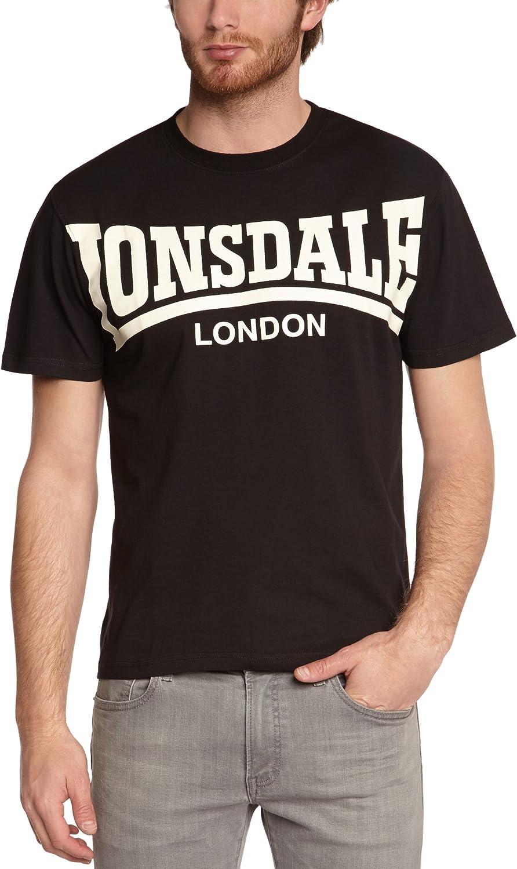 Lonsdale Mens T-Shirt York Pyjama Bottoms